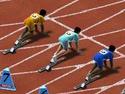 100 meter race